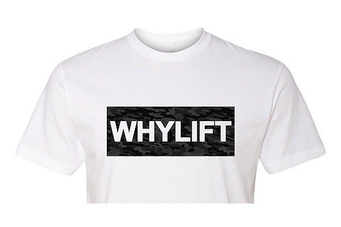 Camo WHYLIFT Box CROP TEE