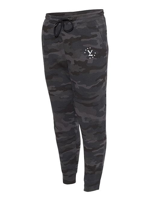 Camo YL Emblem Fleece Joggers