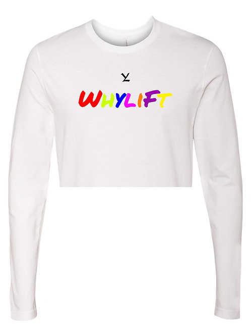 WhyLift For Everybody Long Sleeve Cropped
