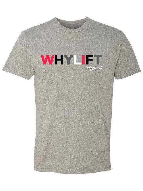 WhyLift V.1 Grey Unisex Tee