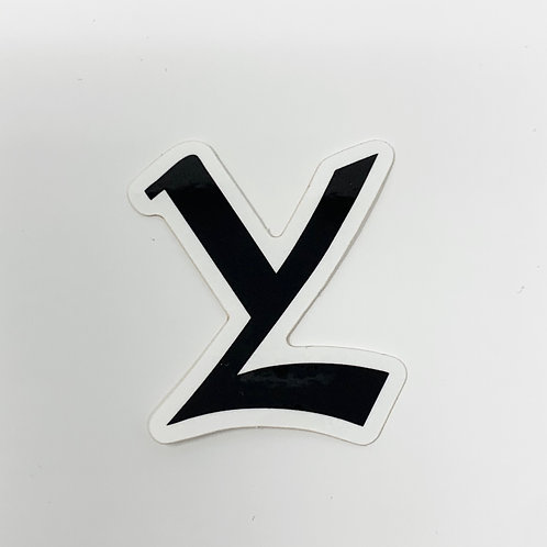 YL Registered Trademark Logo (2 Decals)