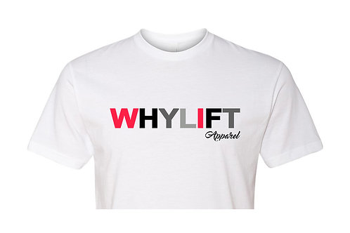 WhyLift V.1 WHITE Unisex Tee