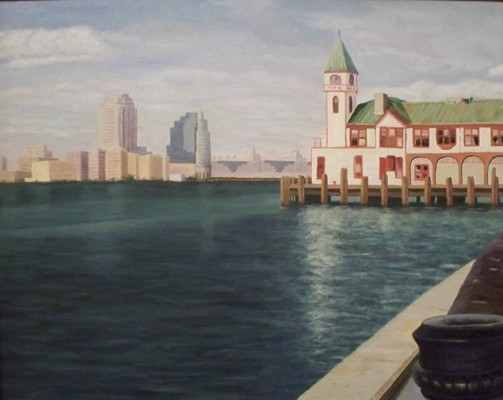 Pier A, Battery Park, NYC - Oil
