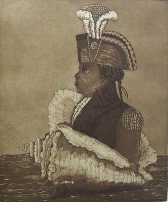 Toussaint Louverture - Etching & Aquatint