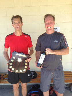 Open Men's Singles Winner & RU
