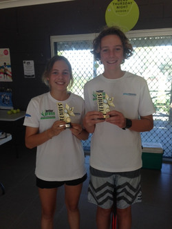 Junior Mixed Doubles Winners
