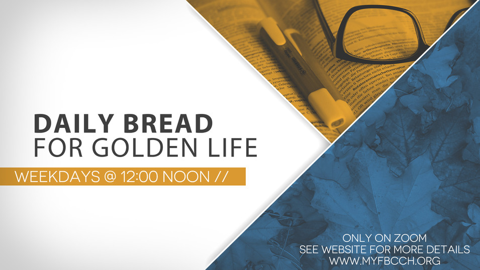 Daily Bread Golden Life