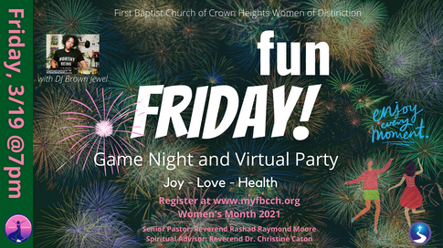 Find Your Joy: Game Night and Dance Party with Live DJ