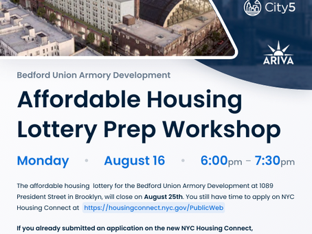 Affordable Housing Lottery Prep Workshop