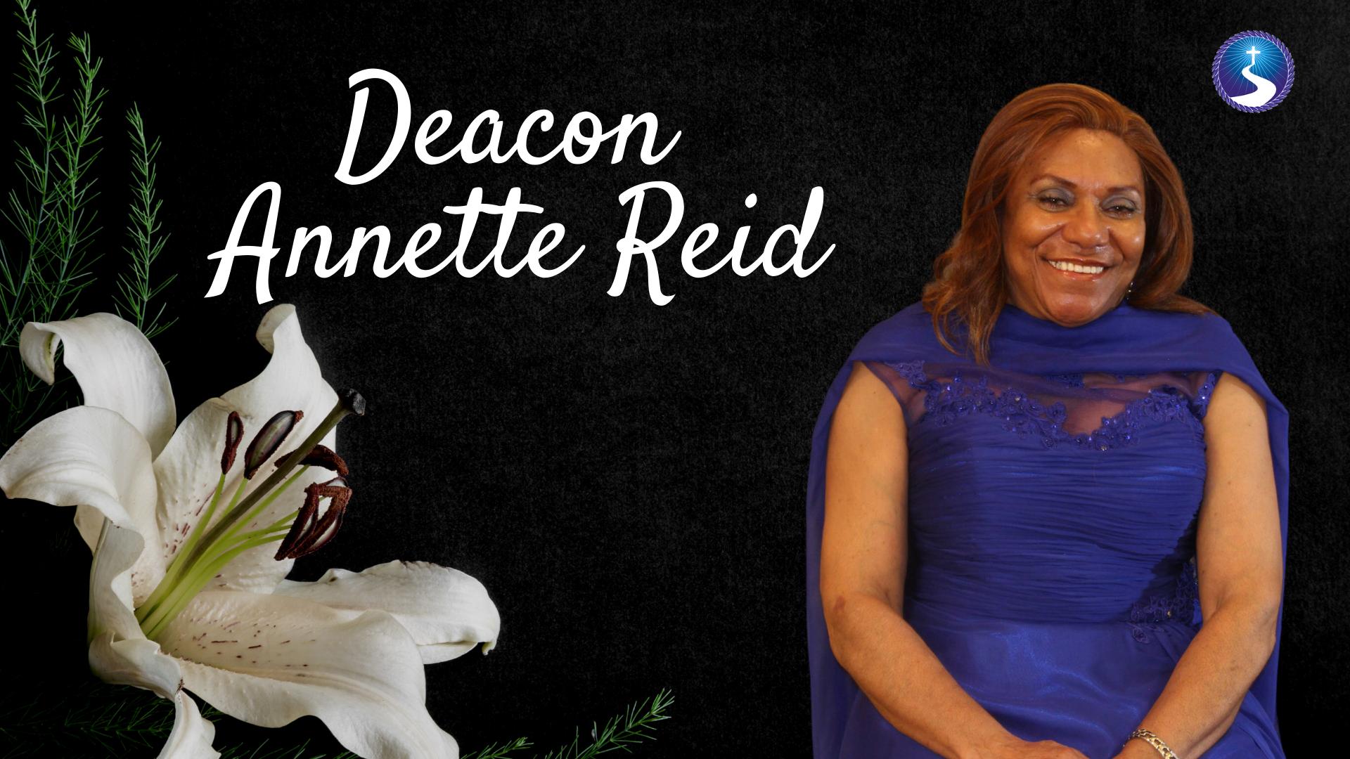 Deacon Annette Reid