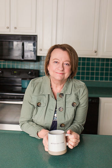 pic in kitchen- green jacket.jpg