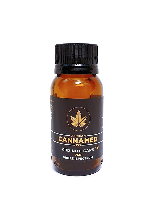 African Cannamed CBD Night Caps 25mg