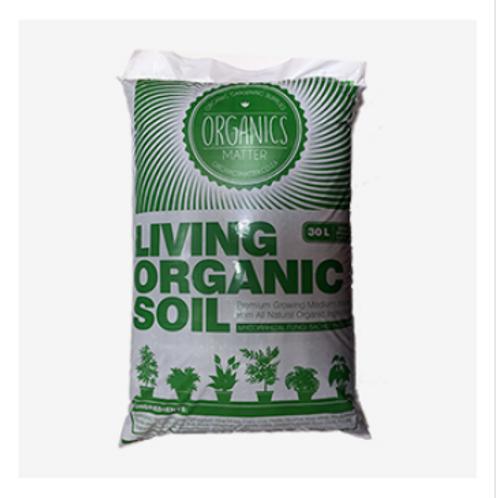 Organics matter soil