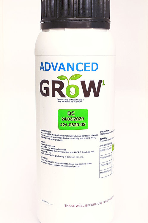 Advanced Hydro Nutrients Grow