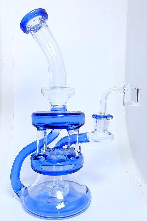 Blue Glass Bong