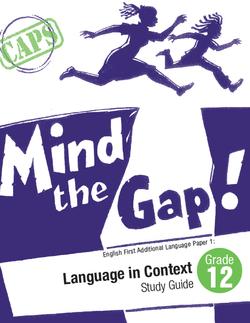 Mind the Gap book cover