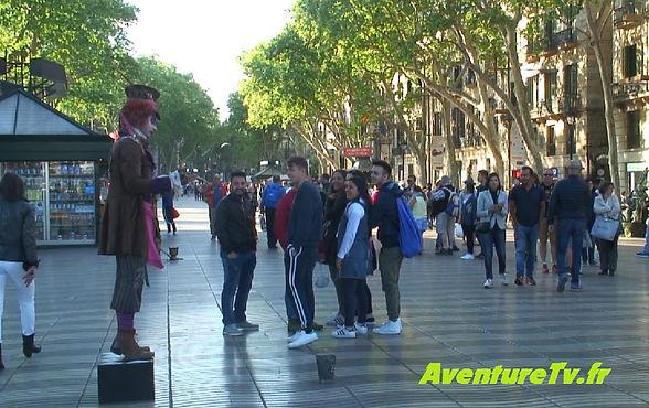 las ramblas Barcelone