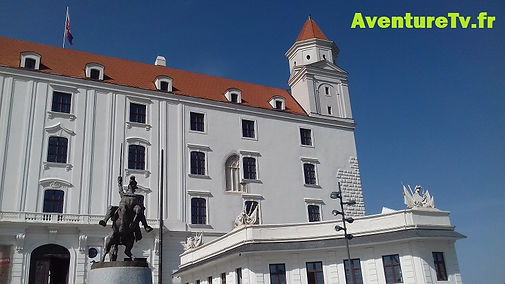 chateau Bratislava Interrail