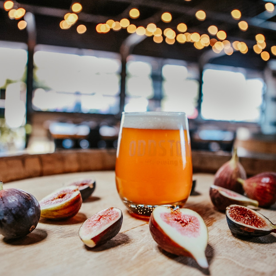 Wine Barrel Aged Sour With Figs
