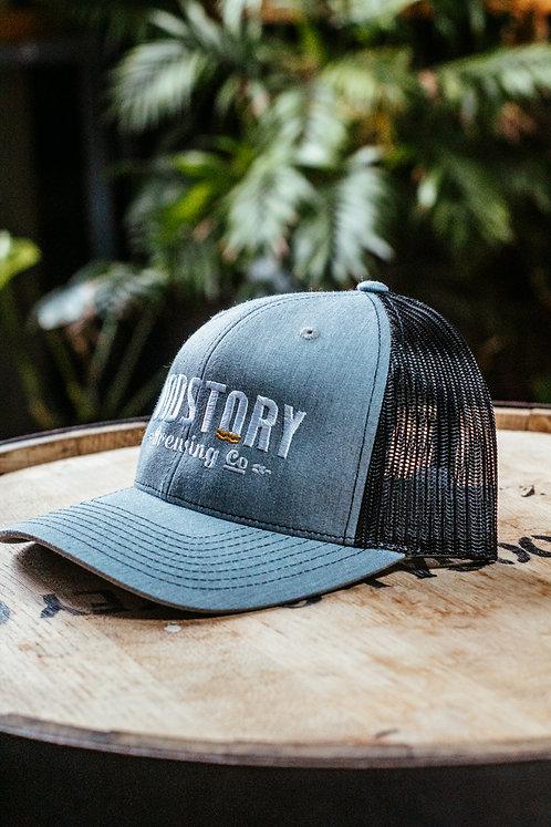 OddStory Trucker Hat in Gray