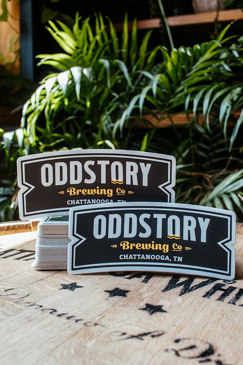 OddStory Badge Sticker