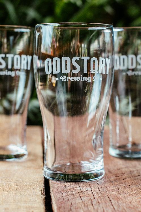 OddStory Pub Glass