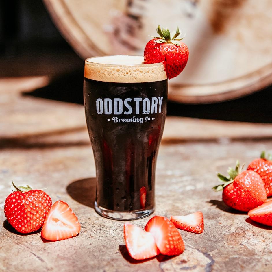 Nitro Strawberry Stout
