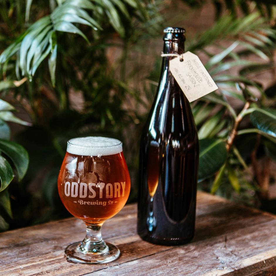 Bottle Conditioned Farmhouse Saison