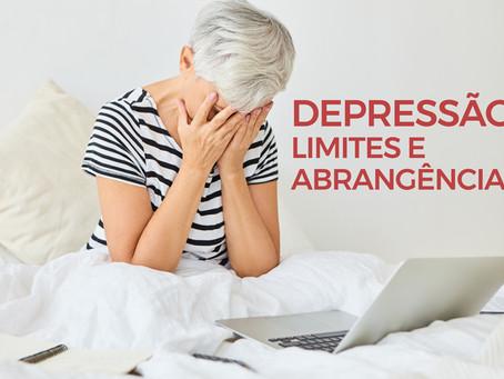 Depressão – limites e abrangências.