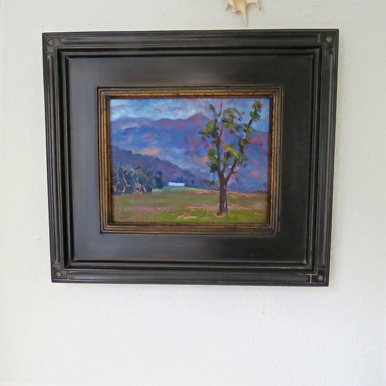 Life and Light -Framed oil painting by Gail M Austin