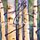 Thumbnail: Aspen Forest 1 -original framed oil painting by Gail M Austin