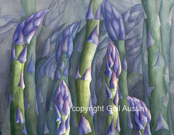 Killer-asparagus-forest | Palisade | Gail M Austin Art