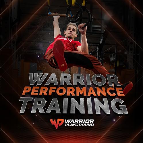 Warrior Performance Developmental & Advanced Training Program