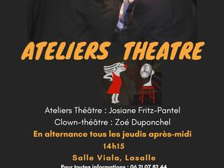 Atelier Théâtre et Clown-théâtre 2020/2021