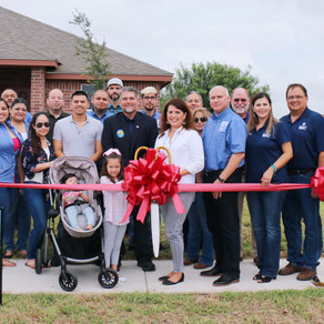 AHSTI OPENS MODEL HOME IN RIO GRANDE CITY