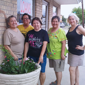 Main Street Partners with Rio Grande City Garden Club