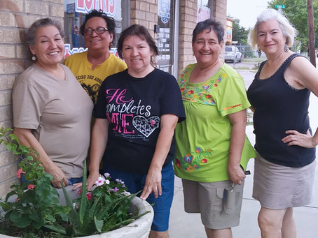 Main Street Partners with Rio Grande City Garden Club