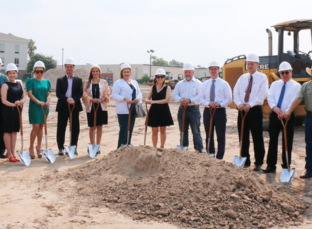 Construction Underway for New Nursing Care Center