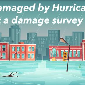 Hurricane Hanna Self-Reporting Damage Survey