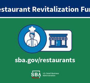 SBA Announces Application Opening for $28.6 Billion Restaurant Revitalization Fund