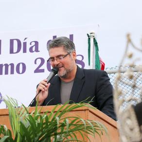 Local Officials Participate in Abrazo de la Amistad