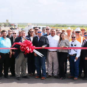 Ribbon Cutting Commemorates Completion of the New FM 755 in Rio Grande City