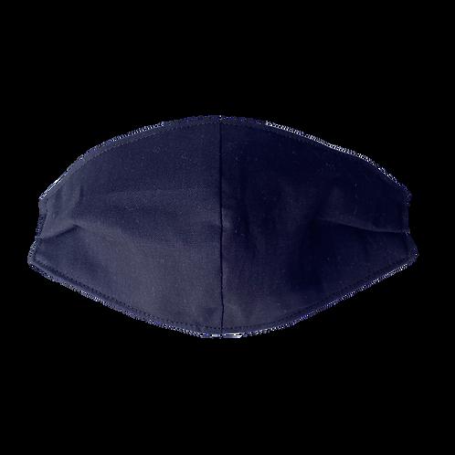 Face Mask - Plain Navy