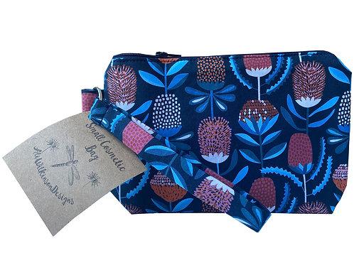 Cosmetic Bag - Small - Waratahs by Jocelyn Proust