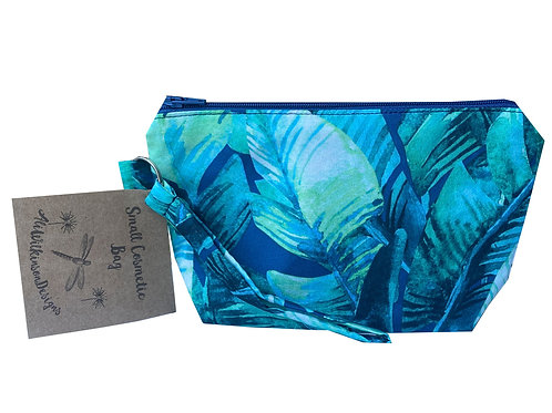 Cosmetic Bag - Small - Tropical Palms