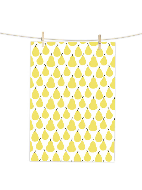 Summer Pears Repeat  - Tea Towel