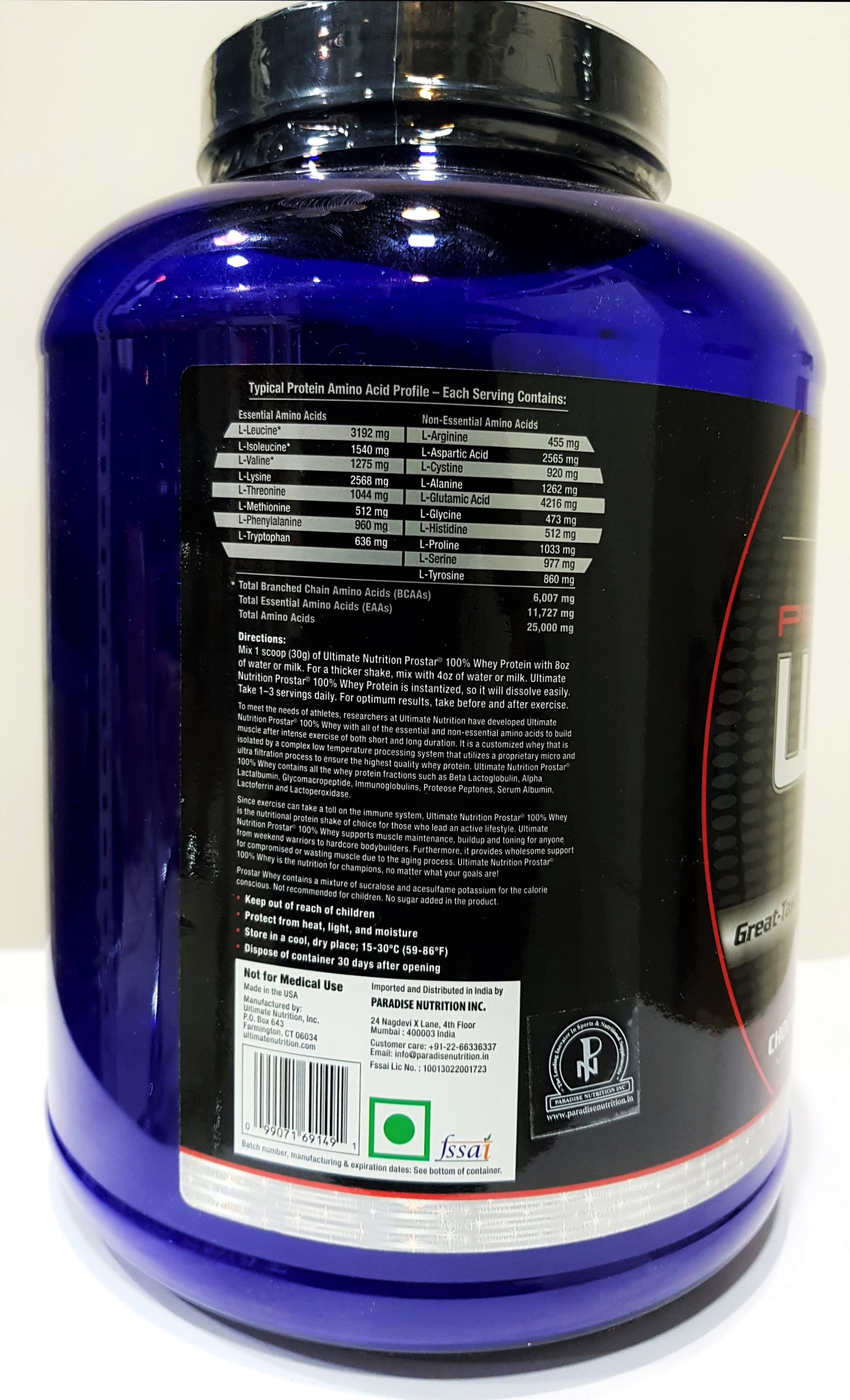 ULTIMATE NUTRITION PROSTAR 100% WHEY PROTEIN (Rs  2499 - Rs  4999)