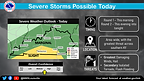 Severe Storms Possible Today