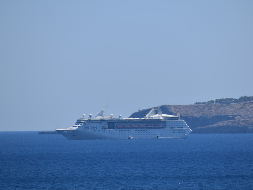 Κατάπλους EMPRESS OF THE SEAS