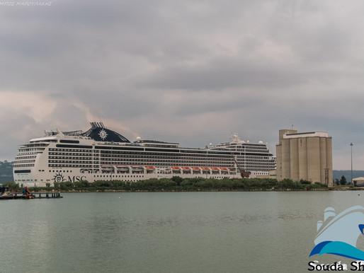 134 αφίξεις κρουαζιερόπλοιων και 220.000 άτομα στα Χανιά το 2019